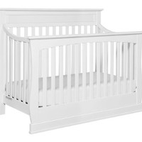 Davinci Glenn 4-In-1 Convertible Crib With Toddler Bed Conversion Kit, White