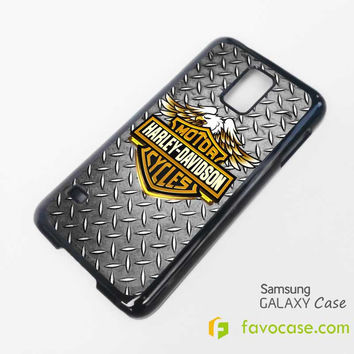 HARLEY DAVIDSON Motorcycle Logo Samsung Galaxy S2 S3 S4 S5, Mini, Note, Tab Case Cover