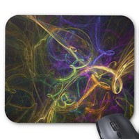 Colorful Abstract Mouse Pad from Zazzle.com