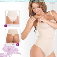 Shapewear Lycra - Nylon Body Shaper Braless Adjustables Straps.Thong type...:Amazon:Everything Else