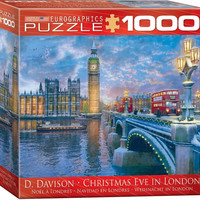 Christmas Eve in London - 1000 Piece Jigsaw Puzzle