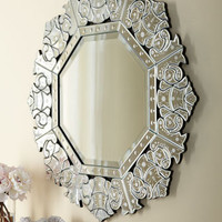 """Ornate Crown"" Mirror - Horchow"