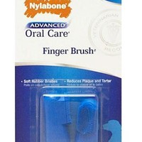 Nylabone Dental Oral Care Finger Brush for Dogs 2-Pack