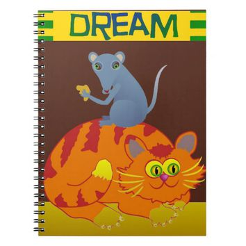 Cat & Mouse Notebook