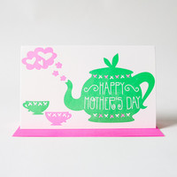 Mother's Day Teapot Card
