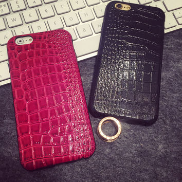Fashion Simple Snakeskin iPhone 5s 6 6s Plus Case Gift-147