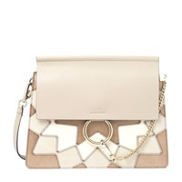 Chloé Faye Optimistic Patchwork Shoulder Bag| Harrods