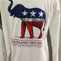 Election Collection Long Sleeve Tshirt - Republican