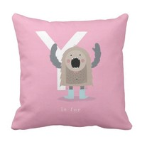 Y is for... pillow
