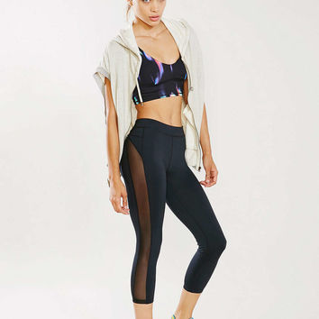 Without Walls Mesh Cropped Legging - Urban Outfitters