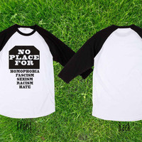 Limited  No Place For Baseball T shirt, Raglan T shirt, Unisex T shirt, Adult T shirt