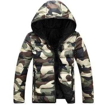 Upgraded Camouflage Parkas Men Military Winter Coat Men Cheap Thickening Cotton-padded Winter Jacket Men with Hood XXXL m-44
