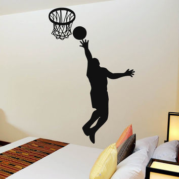 Shop Basketball Wall Murals On Wanelo - Sporting wall decals