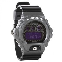 Casio G-Shock DW6900SC-8ER Watch - Black/Grey | Urban Industry