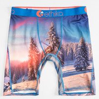 Ethika Cabin Fever The Staple Boxer Briefs White/Combo  In Sizes