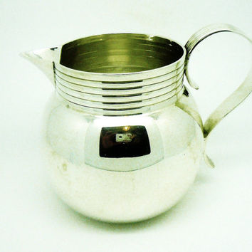 Solid Silver 1 Pint Jug, Milk, Cream, Juice, Sterling, English, Antique, Edwardian, Hallmarked London 1907, REF:256R