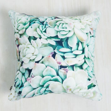 Succulent Surroundings Pillow