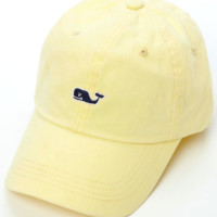 Vineyard Vines Signature Whale Logo Baseball Hat- Lemonade