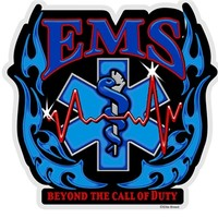 Elite Breed Star of Life EMS The Call of Duty Decal