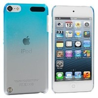 Generic Leegoal(TM)Baby Blue Raindrop Crystal Hard Back Cover Case for Apple iPod Touch 5th Generation 5G 5