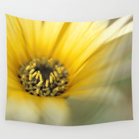 Flower #1 Wall Tapestry by Bruce Stanfield