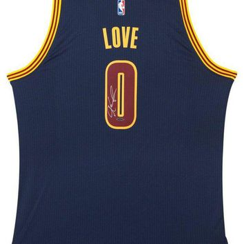 LMFONY Kevin Love Signed Autographed Cleveland Cavaliers Basketball Jersey (Upper Deck Authenticated)