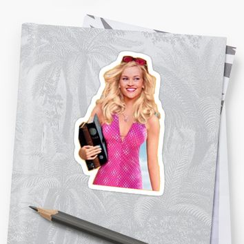 'Elle Woods Legally Blonde ' Sticker by Stickerzbykate