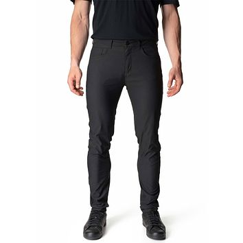 Way To Go Pant in Rock Black