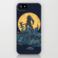 The Dragon Slayer iPhone & iPod Case by Matthew J Parsons