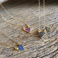 DRUZY NECKLACE - TRIANGLE