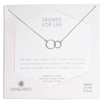 Dogeared Friends for Life Necklace | Nordstrom