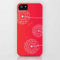 Dandelions and sunset iPhone & iPod Case by Silvianna