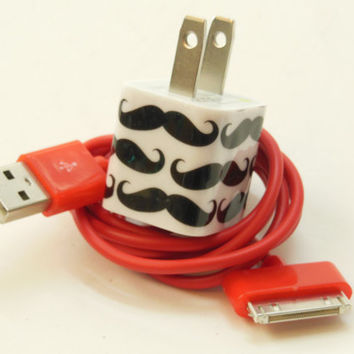 iPhone Charger Decorated with Personality Charger by PersonalPower