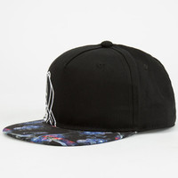 Neff Kenny Dark Void Boys Snapback Hat Black One Size For Women 24729510001