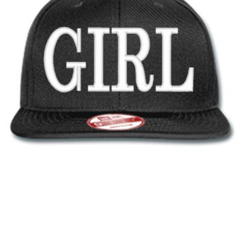 GIRL design Bucket Hat - New Era Flat Bill Snapback Cap