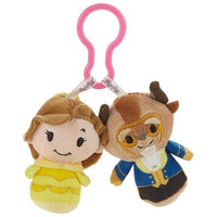 Hallmark Disney Beauty and the Beast itty bittys Clippys Stuffed Animals