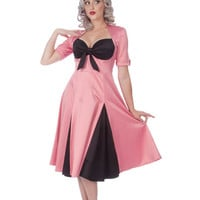 Kitty Pink with Black Contrast Panels and Bust by FablesbyBarrie