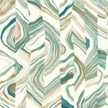 York Wallpaper CM3308 Agate Stripe