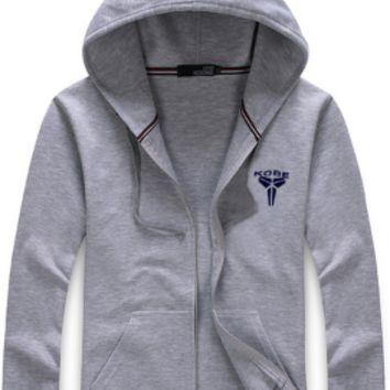Mens Basketball Zip-Up Hoodie