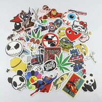 50PCS EveryOne-Buy Stickers Skateboard Vintage Vinyl Sticker Laptop Luggage Car phone Pad Decals