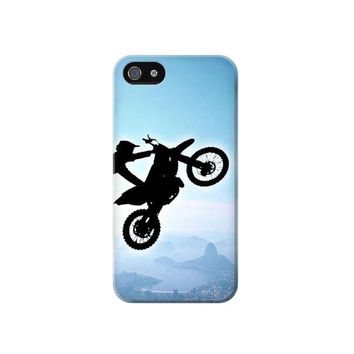 P7272 Extreme Motocross Phone Case For IPHONE 4