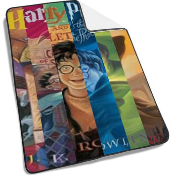 Harry Potter Cartoon Blanket