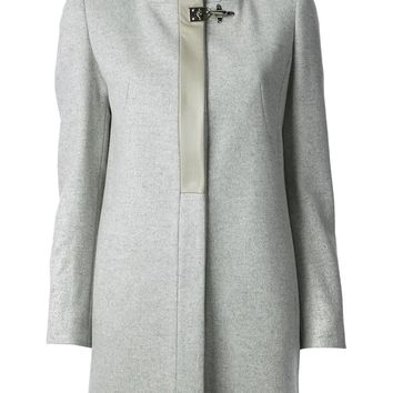 Fay straight cut coat