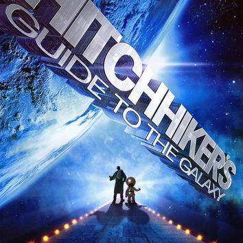 The Hitchhiker's Guide to the Galaxy 11x17 Movie Poster (2005)