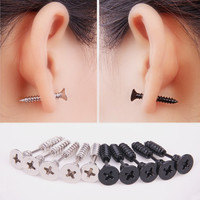 Whole Screw Stud Earrings