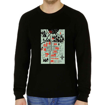 Twin Peaks Map - Sweater for Man and Woman, S / M / L / XL / 2XL **