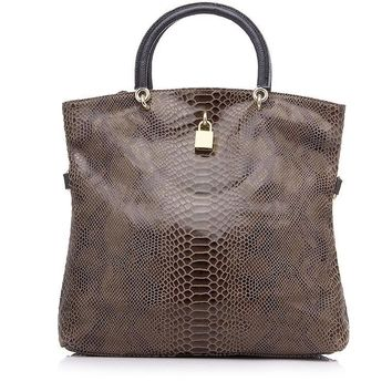Leather Bags Female Fashion Snake Pattern Tote Bag Top Quality Leather Handbags Evening Clutch Shoulder Bag