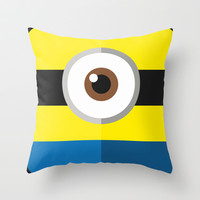 My minion s2 Throw Pillow by Victor Trovo Afonso
