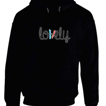 twenty one pilots lovely hoodie from teehouses clothes. Black Bedroom Furniture Sets. Home Design Ideas