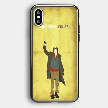 The Breakfast Club Sincerely Yours iPhone XS Max Case   Casefruits